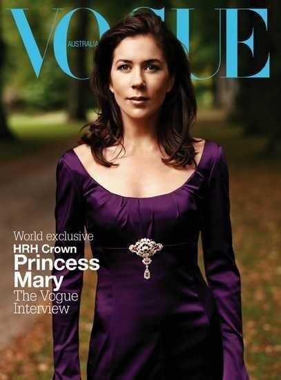 crown princess mary purple dress australian vogue