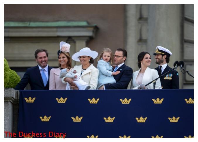 king carl xvi gustaf birthday family sweden