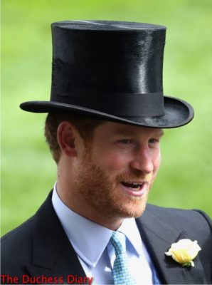 prince harry top hat chats racegoers royal ascot 2016