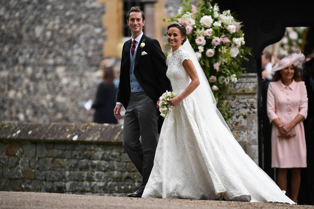 Pippa Middleton Giles Deacon Gown James Matthews Wedding May 2017