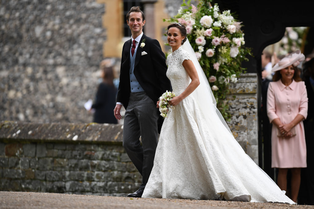 Pippa Middleton Giles Deacon Gown James Matthews Wedding May 2017