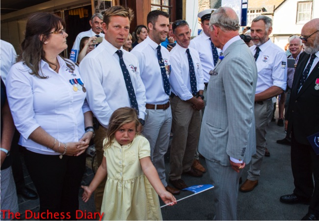 ella cameron shrugs meets prince charles port isaacs
