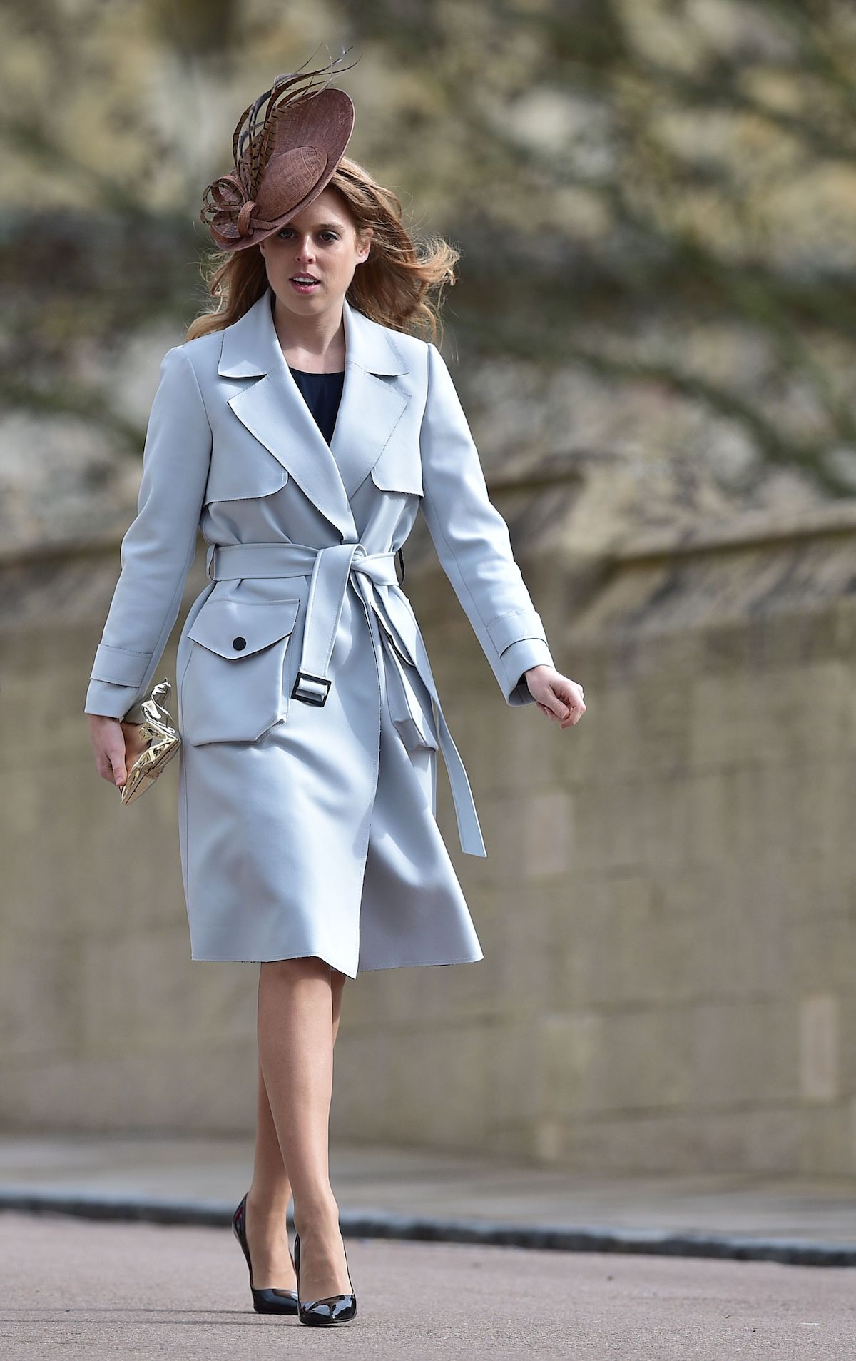 Princess Beatrice Juliette Botterill Easter Service 2016 Windsor