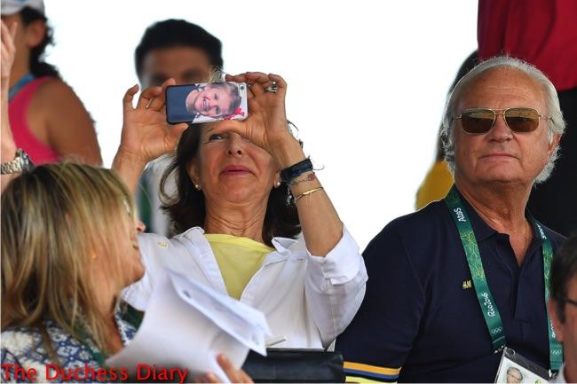 queen silvia phone case princess estelle olympics