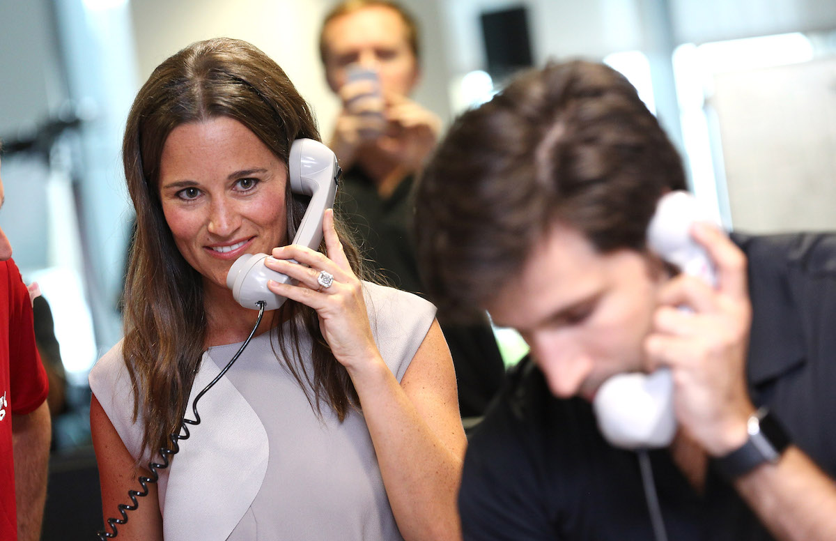 Pippa Middleton Engagement Ring Makes Trade BGC Charity Day 2016