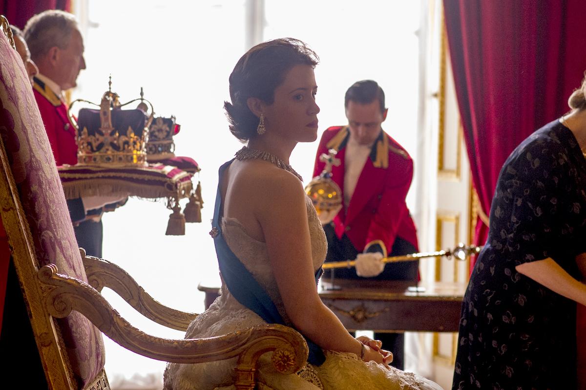 Claire Foy The Crown Awaits Portrait Session Netflix Season One