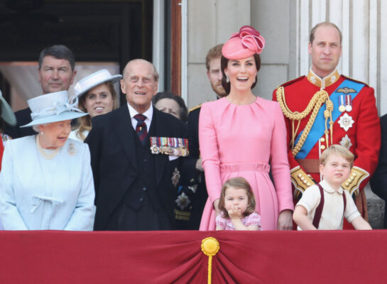 Royal Family All Impressed by 2017 Trooping of the Colour But Princess Charlotte