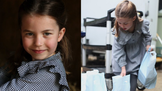 Princess Charlotte on Her Fifth Birthday