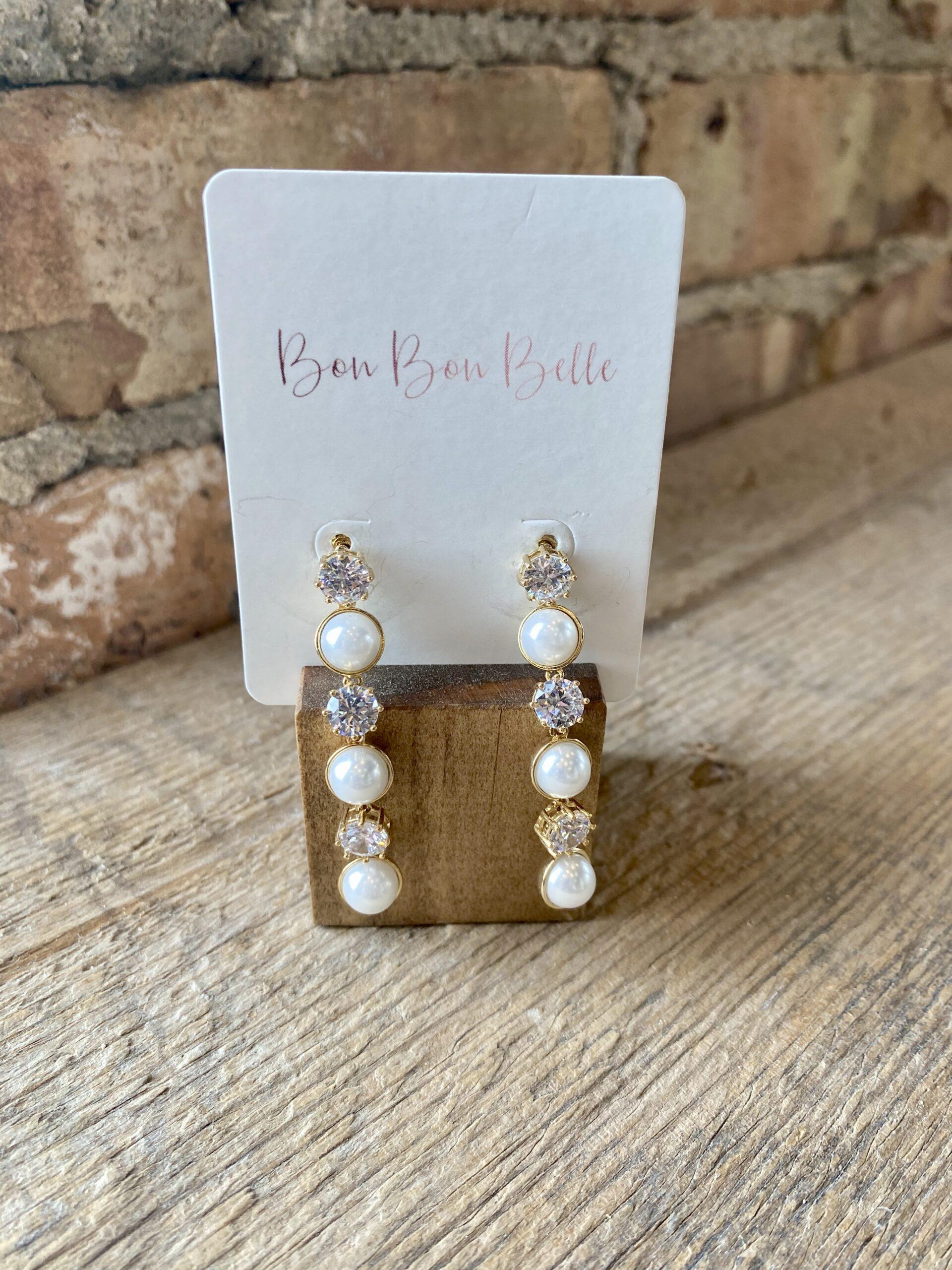 Bon Bon Belle Store | Bridal Accessories Earrings | Burlington, WI