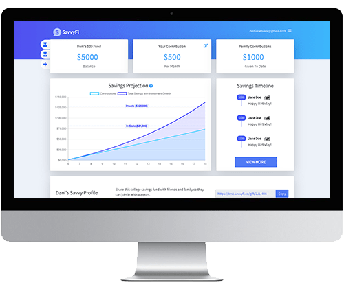 SavvyFi Dashboard