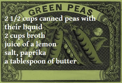 The Joy of Cooking: Emergency Pea Soup