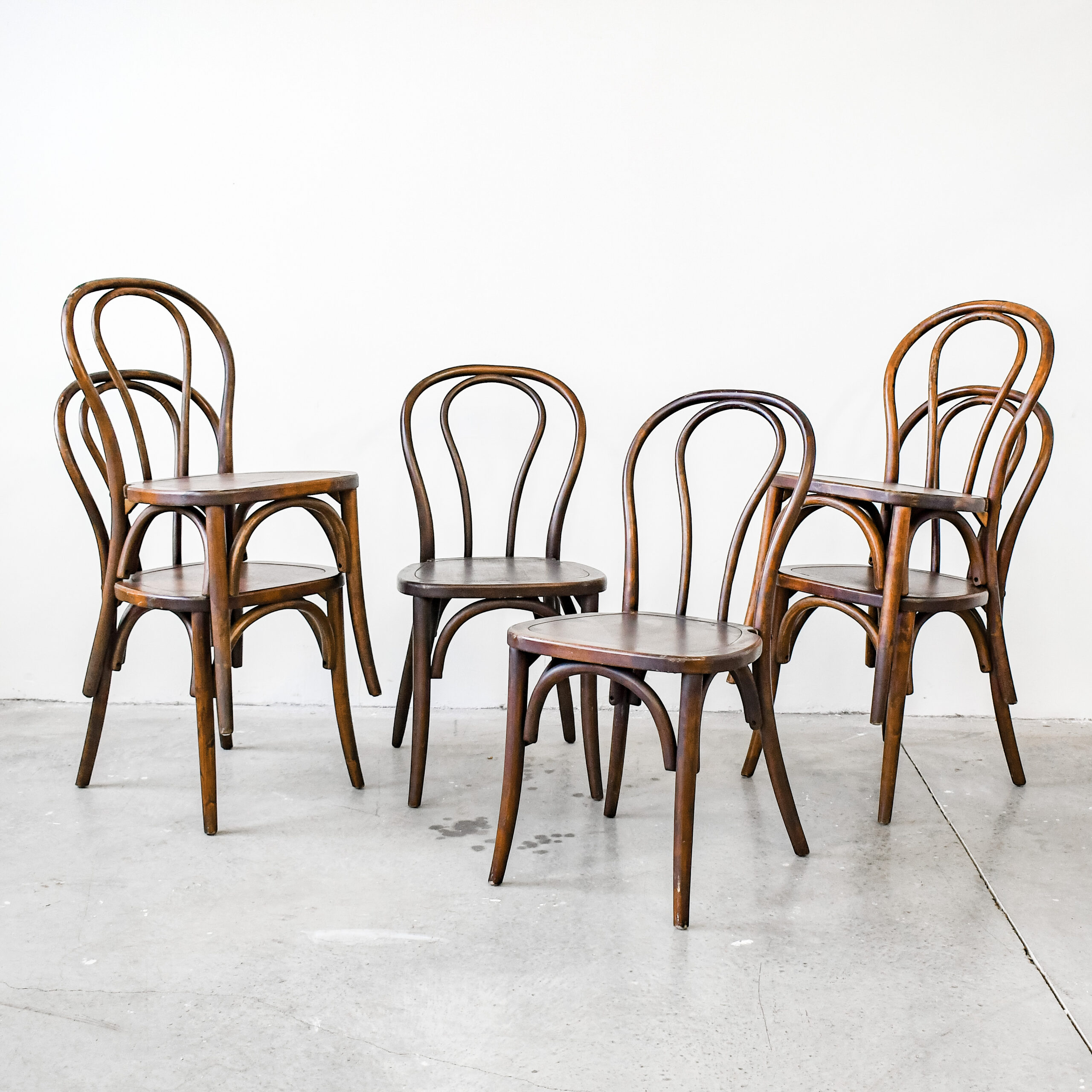 bentwood stacking chair