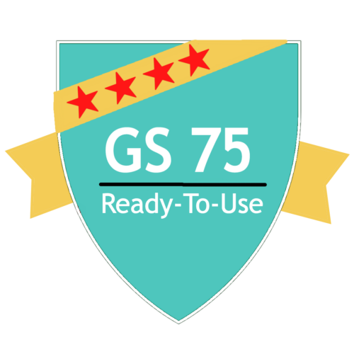 GS 75: Surface Antimicrobial (Ready-to-Use)
