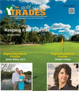 Golf Course Trades Magaine August 2015 edition