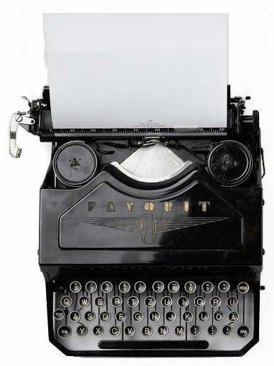 Artisan Editing- Typewriter
