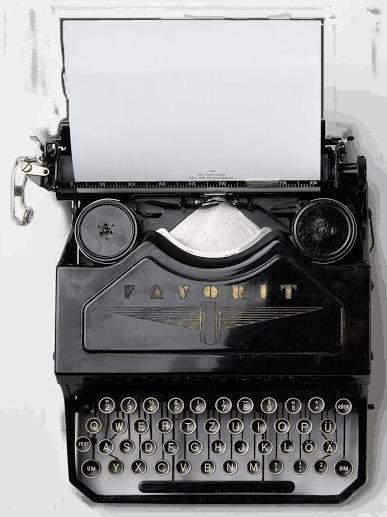 Artisan Editing- Typewriter