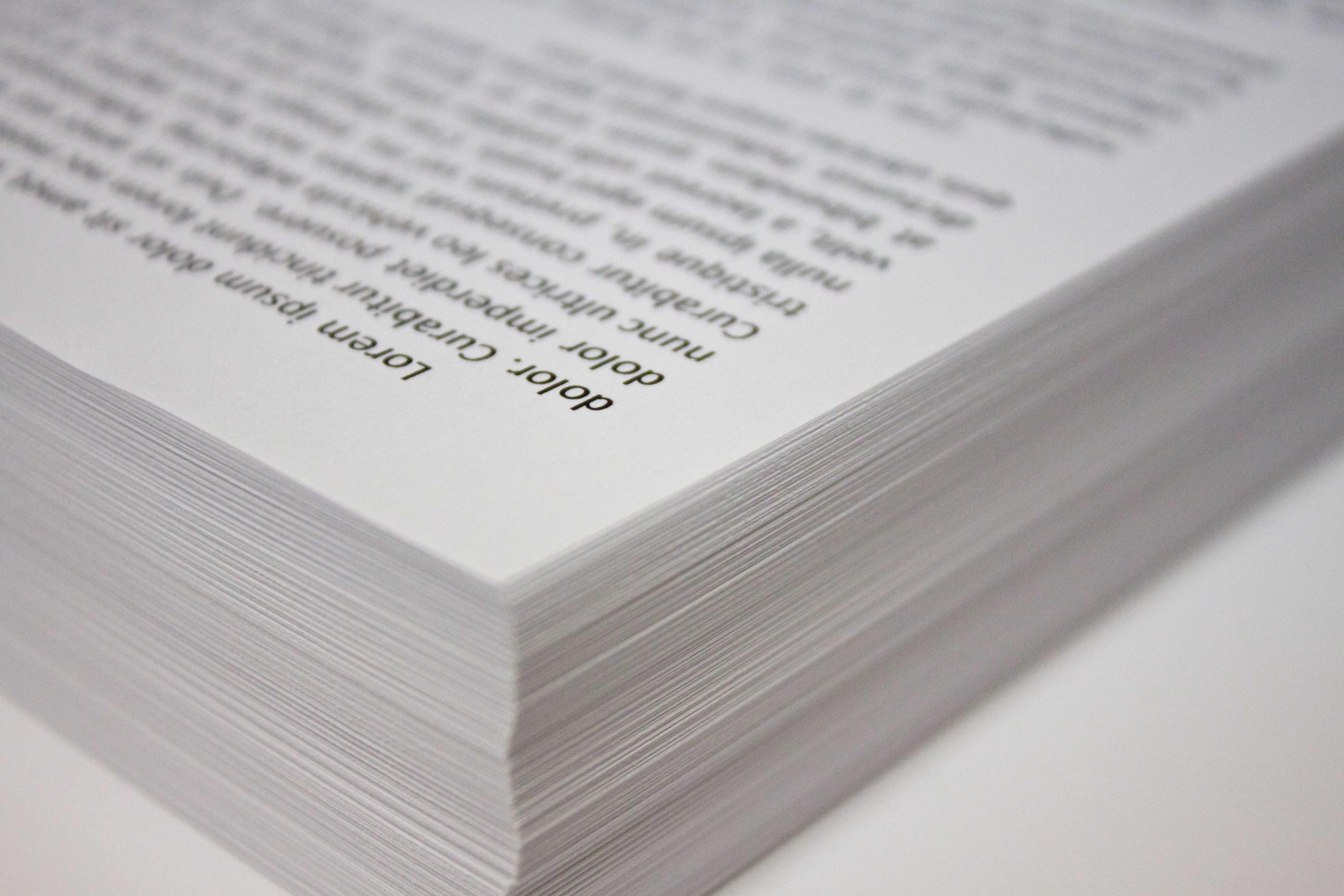 Artisan Editing- Paper