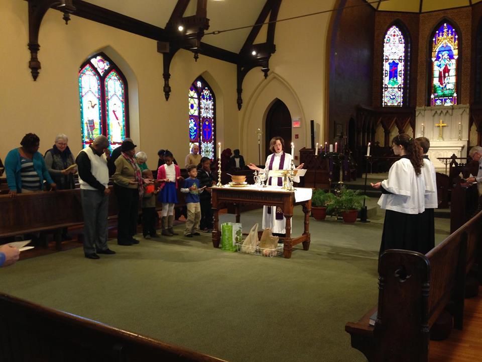 grace johanna at altar