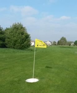 Flag on 9