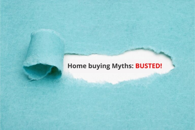 Five Myths About Buying A Home