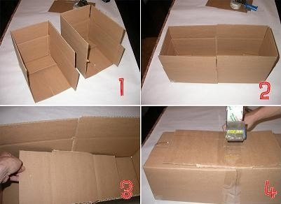 How to make a larger box