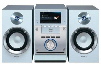 Ship a home audio system