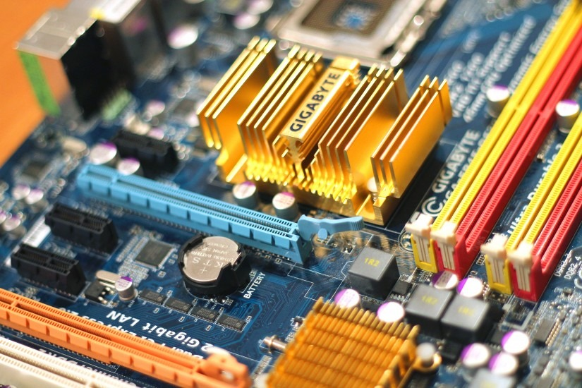Ship a motherboard