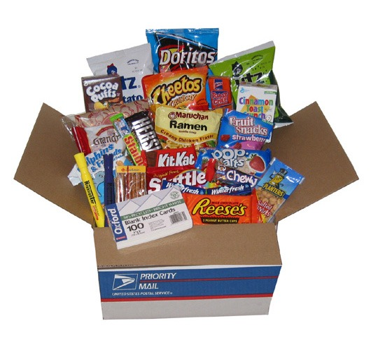 shipping a CARE Package