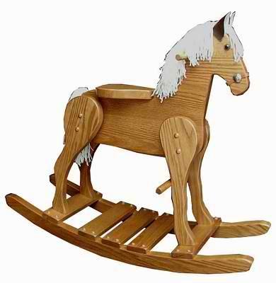 How to ship a rocking horse