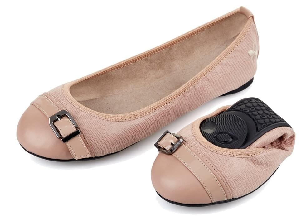 shipping folding flat shoes