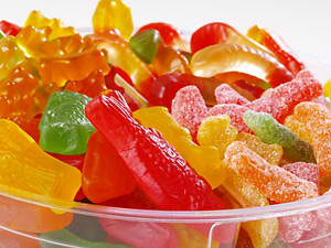 Ship gummi candies