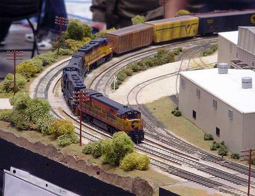Ship Model Trains