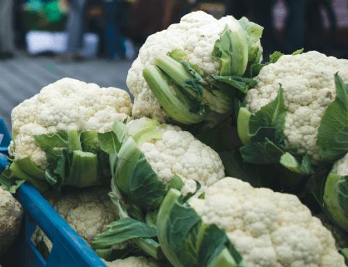 Ship fresh cauliflower