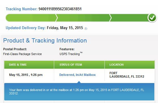 Tracking Shipments on the Web
