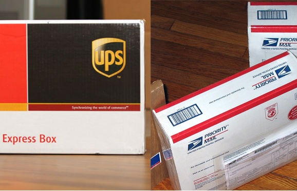 UPS vs USPS