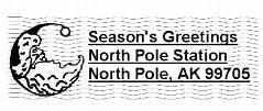 North Pole Postmark
