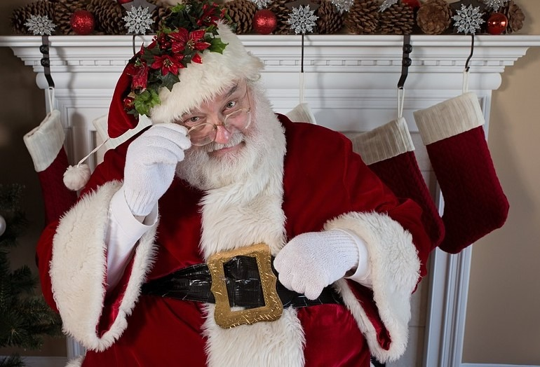 Santa Claus - North Pole Post Mark