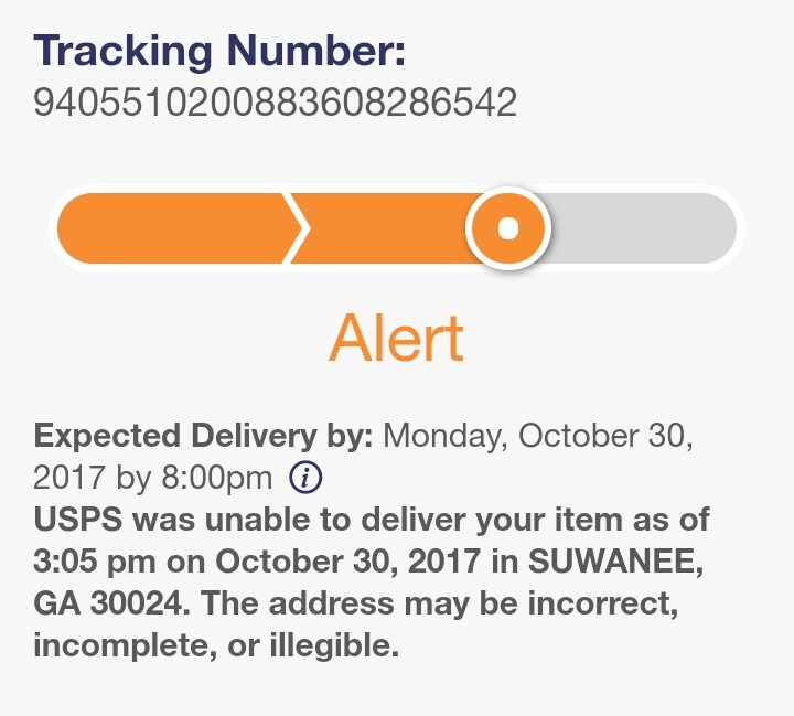 Lost Packages Due to Address Label Errors