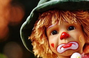 Clown costumes are banned in France