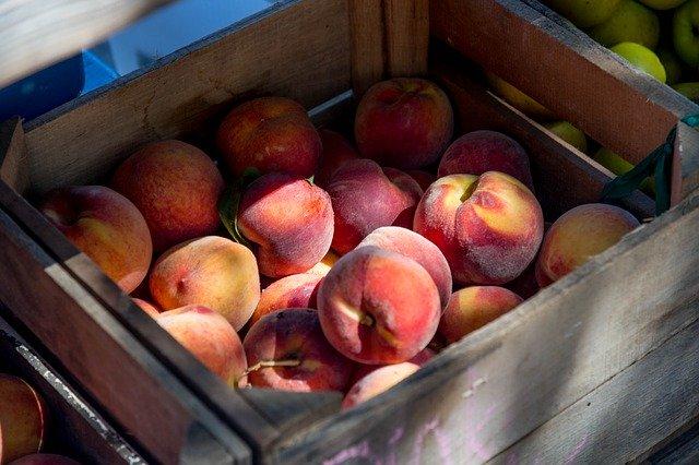 How to ship fresh peaches