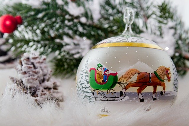 Shipping Glass Tree Ornaments