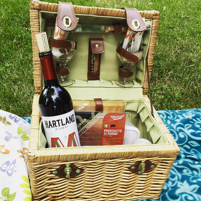 shpping a wine basket