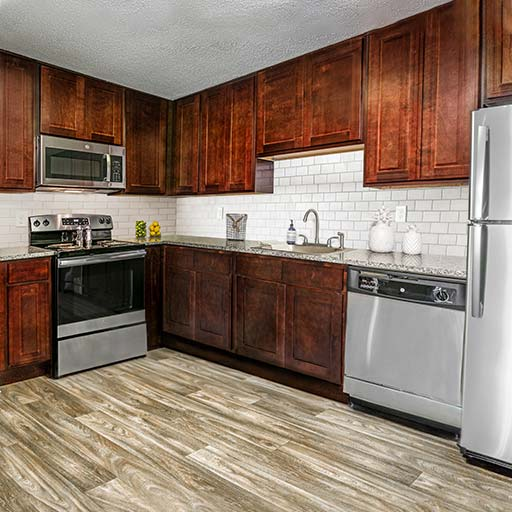 Interior Laurel Kitchen 512x512 1 Newly renovated apartments in Homewood