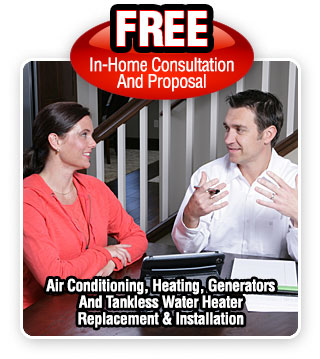 Free In-Home-Air Conditioning Heating Generator Solar Tankless Cost Estimate