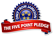 Jameson 5 Point Service Pledge