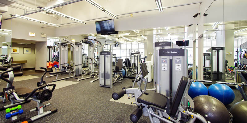 655 Irving Park - exercise room