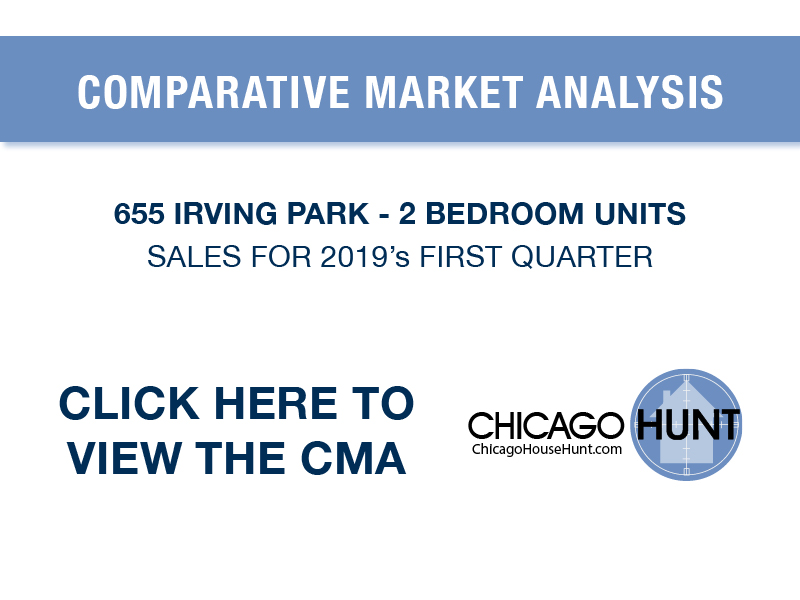 CMA 655 Irving Park 2 Bedrooms 2019's First Quarter