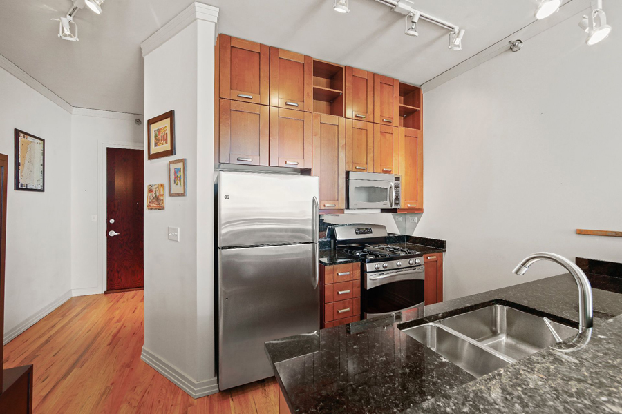 Printers Row - 170 West Polk Street Unit 1503, Chicago, IL 60605 - Kitchen