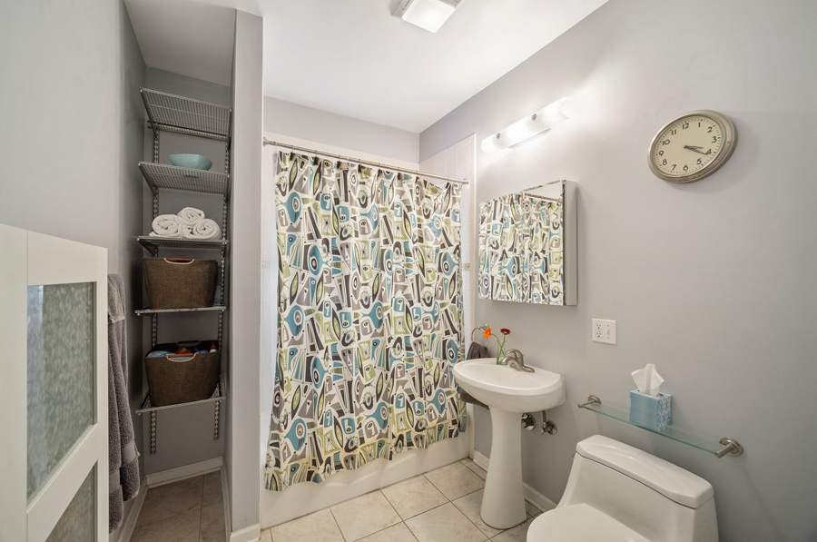 Andersonville - 5644 North Wayne Avenue Unit 1, Chicago, IL 60660 - Bathroom
