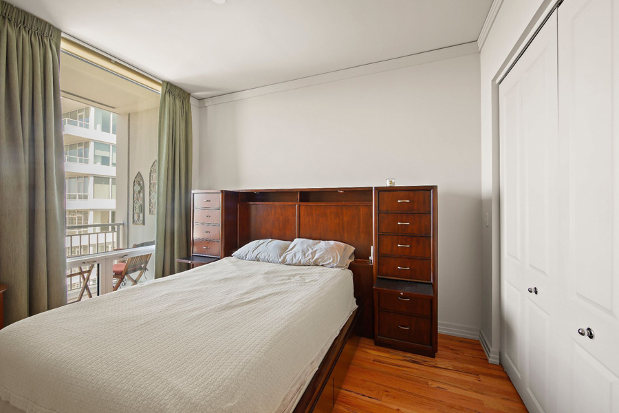 Printers Row - 170 West Polk Street Unit 1503, Chicago, IL 60605 - Bedroom